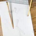 Model zeichnen - Stillleben