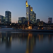 Frankfurt a.M. zur Blauen Stunde 2008